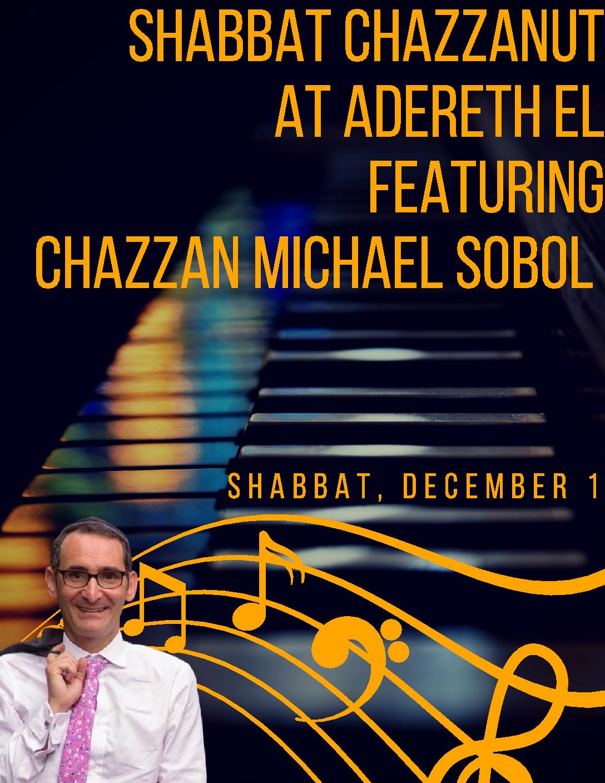 Shabbat Chazzanut – Adereth El